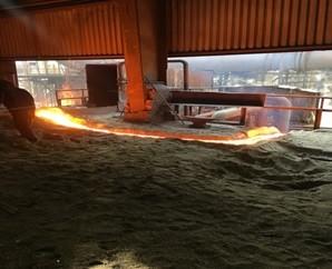 Demir Çelik- Sıvı Metal