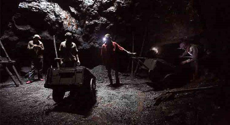 maden işçilerinin